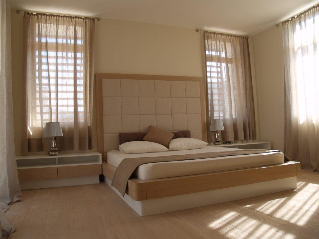 yatak odası dekorasyonu Nida İç Mimarlık