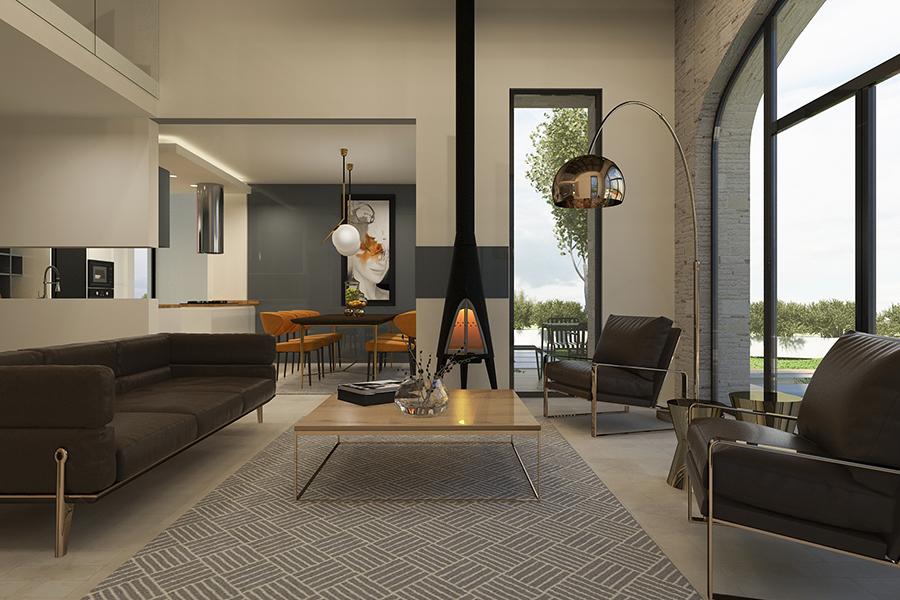 villa tasarımı projelendirme ve uygulama Nida İç Mimarlık
