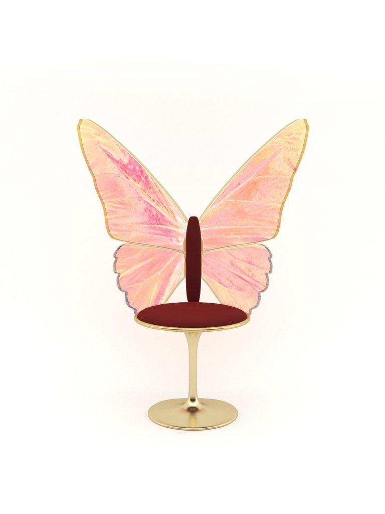 fairy gold sandalye